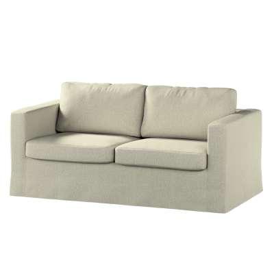 Pokrowiec na sofę Karlstad 2-osobową nierozkładaną długi 161-62 szaro - beżowy melanż Kolekcja Living
