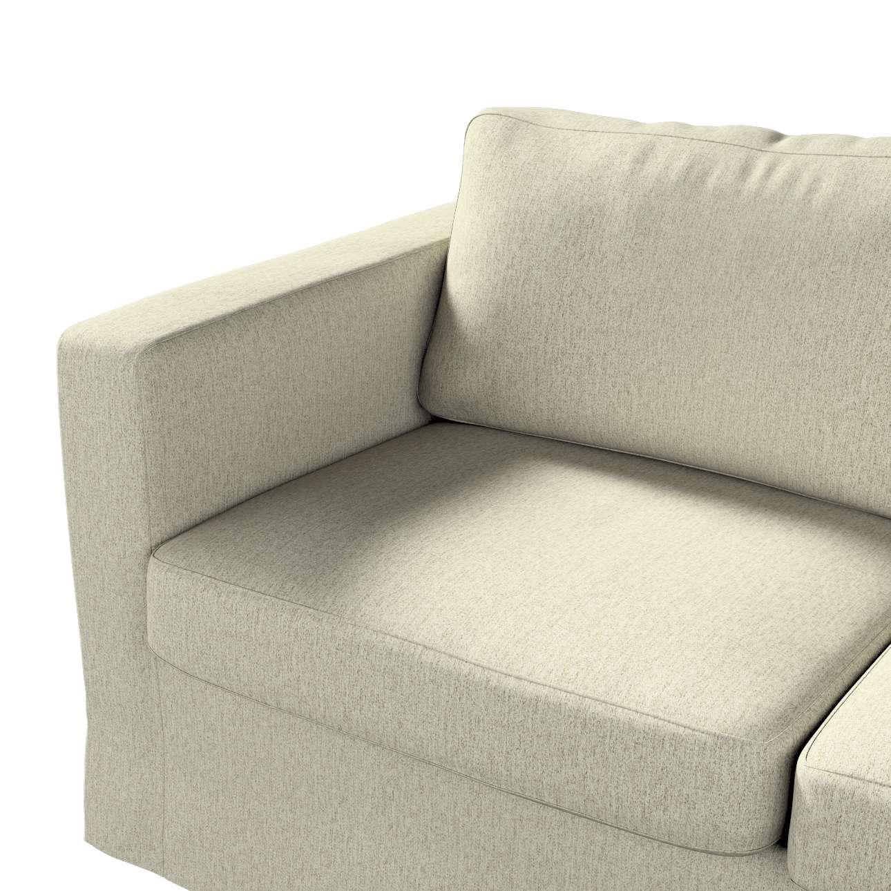 Pokrowiec na sofę Karlstad 2-osobową nierozkładaną długi w kolekcji Living, tkanina: 161-62