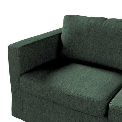 Pokrowiec na sofę Karlstad 2-osobową nierozkładaną długi w kolekcji City, tkanina: 704-81