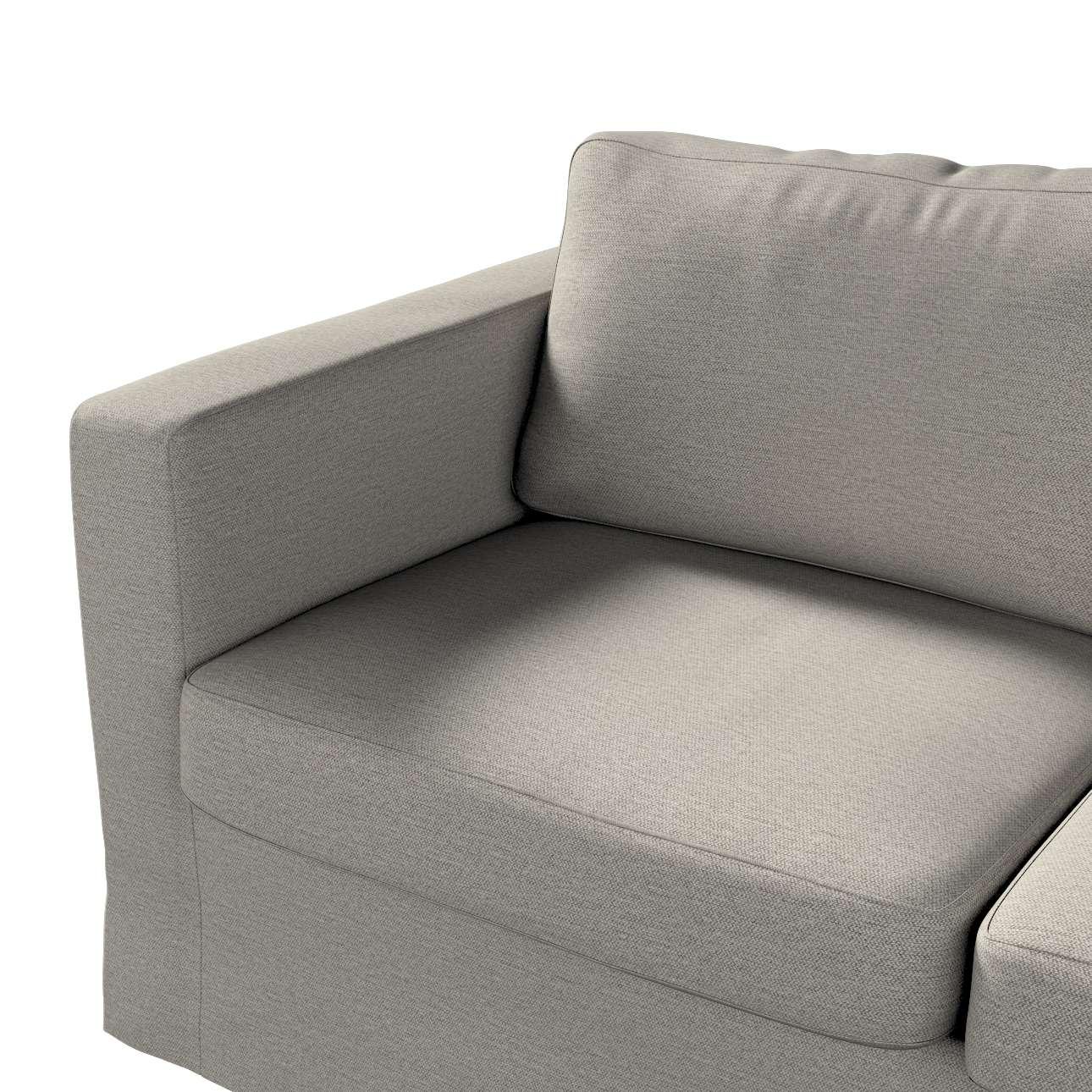 Pokrowiec na sofę Karlstad 2-osobową nierozkładaną długi w kolekcji Madrid, tkanina: 161-91