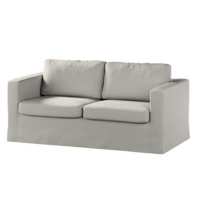 Pokrowiec na sofę Karlstad 2-osobową nierozkładaną długi w kolekcji Living, tkanina: 161-54