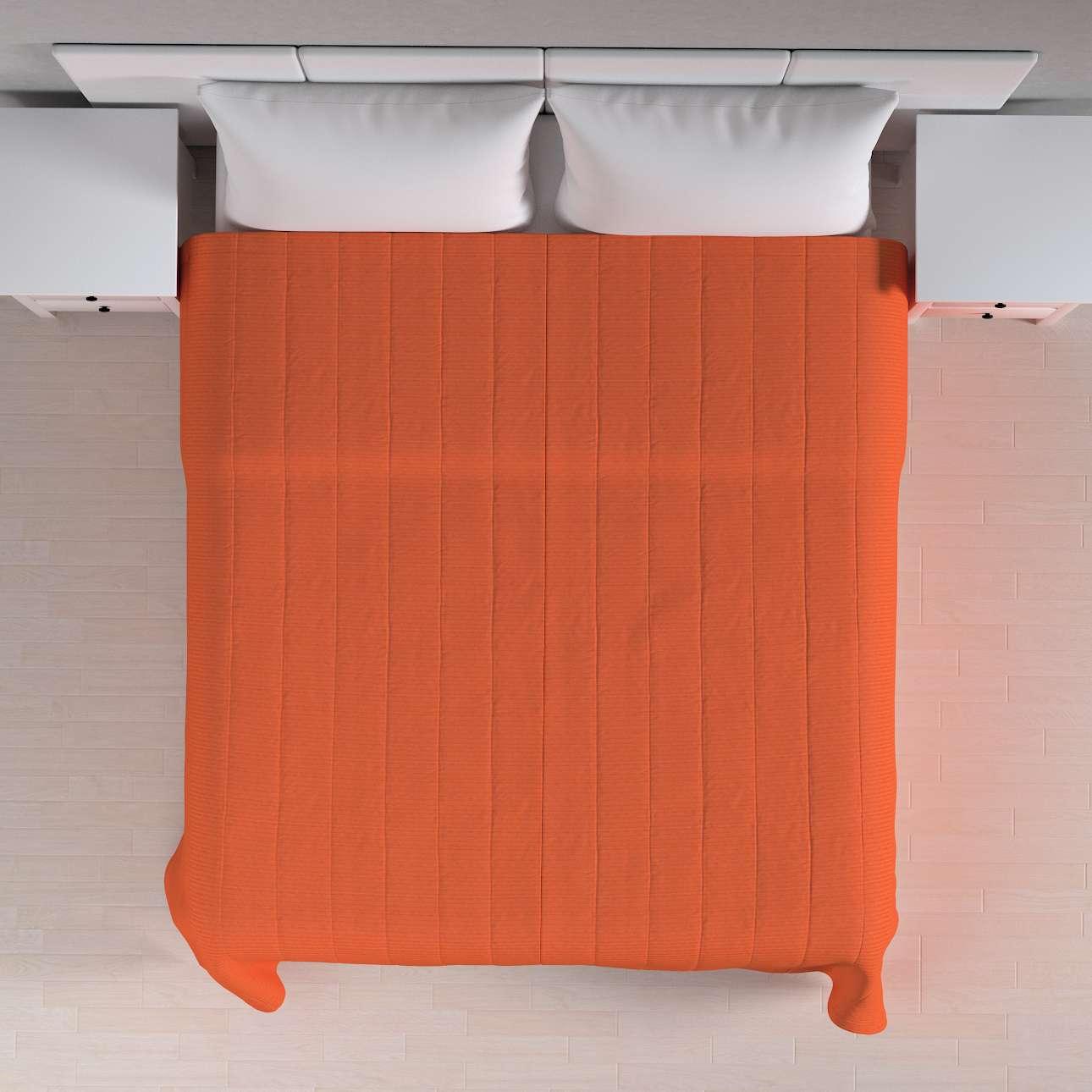 Sengetæppe quiltet<br/>10cm striber 260 × 210 cm fra kollektionen Jupiter, Stof: 127-35
