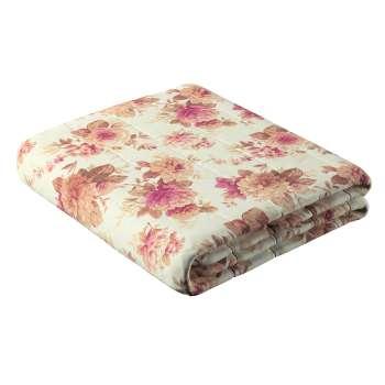 Narzuta pikowana w pasy w kolekcji Mirella, tkanina: 141-06