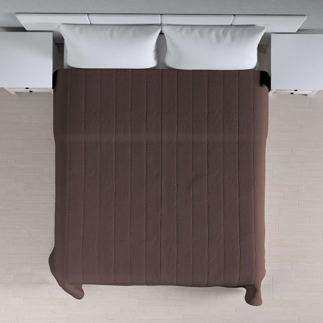 Lovatiesės (vertikaliai dygsniuotos) plotis 260 x ilgis  210 cm kolekcijoje Cotton Panama, audinys: 702-03