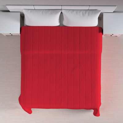 Lovatiesės (vertikaliai dygsniuotos) 702-04 raudona Kolekcija Cotton Panama
