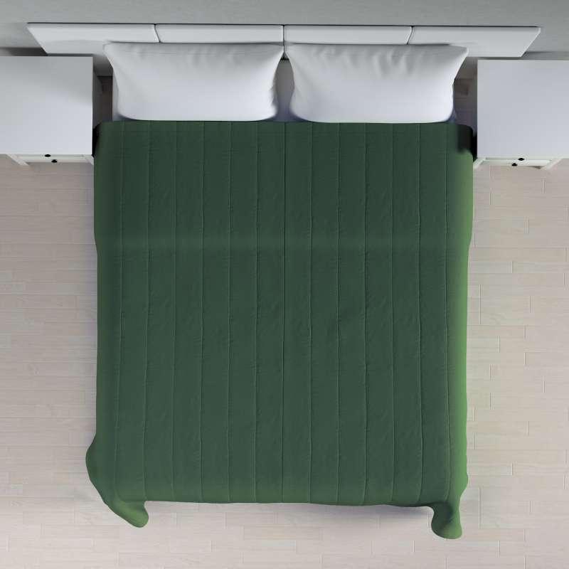 Sengetæppe quiltet<br/>10cm striber fra kollektionen Cotton Panama, Stof: 702-06