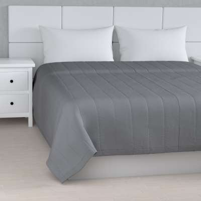 Stripe quilted throw 702-07 grey Collection Panama Cotton