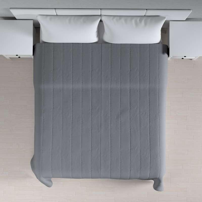 Tagesdecke mit Streifen-Steppung von der Kollektion Cotton Panama, Stoff: 702-07