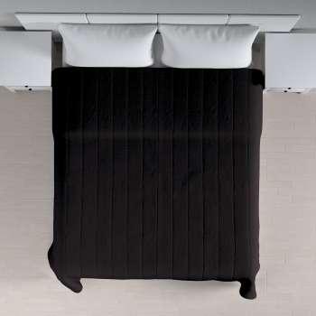 Sengetæppe quiltet<br/>10cm striber 260 × 210 cm fra kollektionen Cotton Panama, Stof: 702-08
