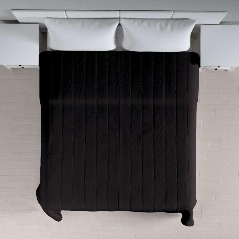 Sengetæppe quiltet<br/>10cm striber fra kollektionen Cotton Panama, Stof: 702-08