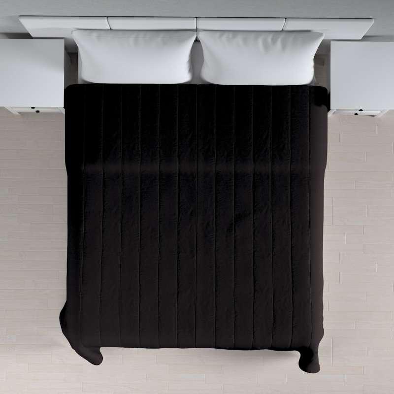 Sengetæppe quiltet<br/>10cm striber fra kollektionen Cotton Panama, Stof: 702-09