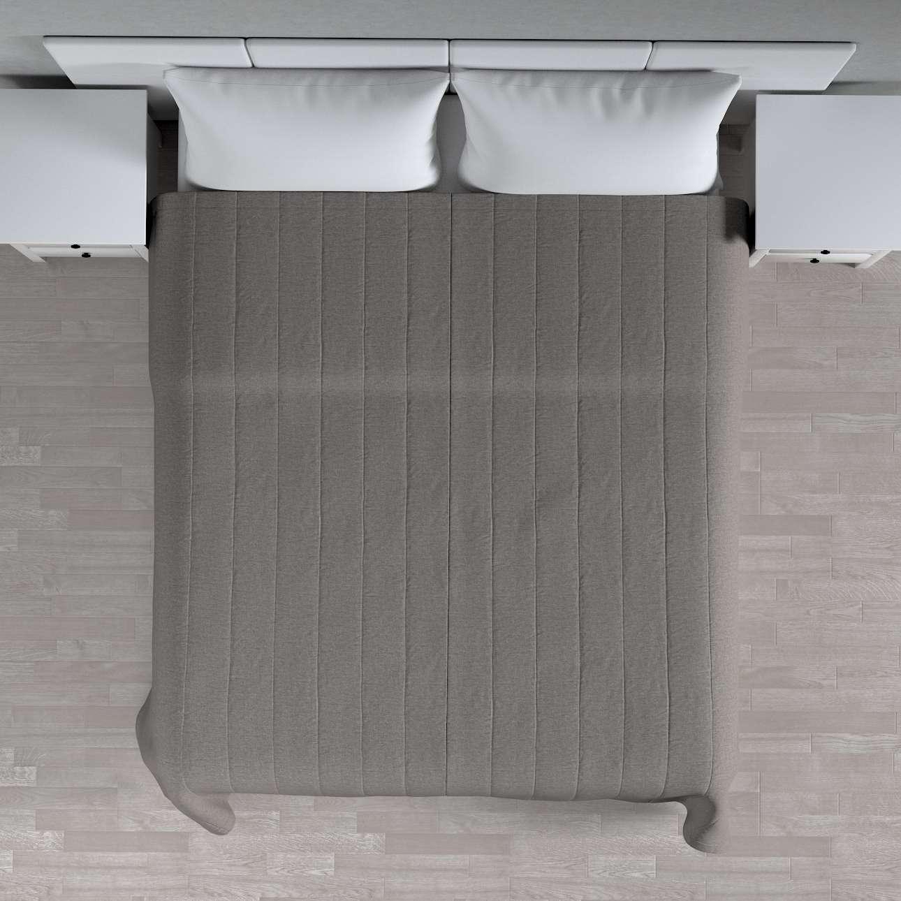 Sengeteppe quiltet<br/>10cm striper fra kolleksjonen Edinburgh, Stoffets bredde: 115-77