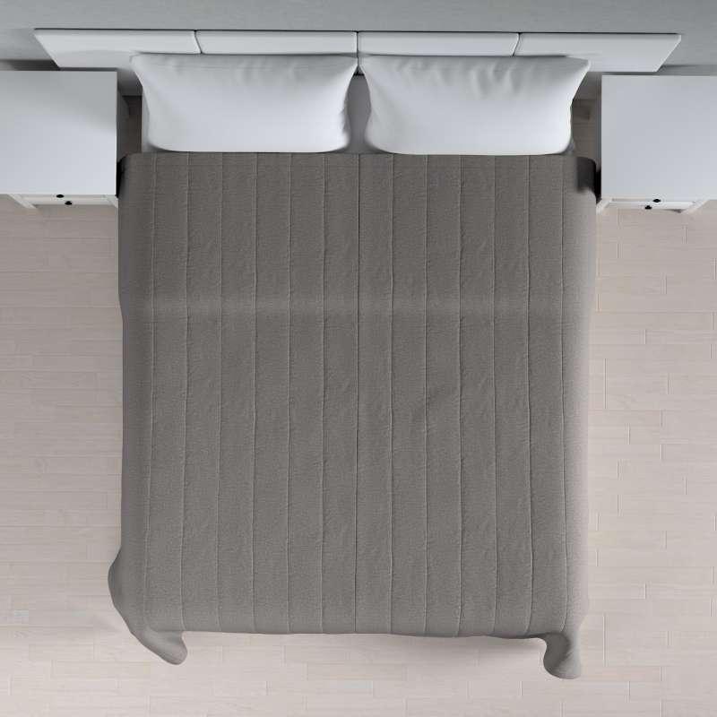 Sengeteppe quiltet<br/>10cm striper fra kolleksjonen Edinburgh, Stoffets bredde: 115-81