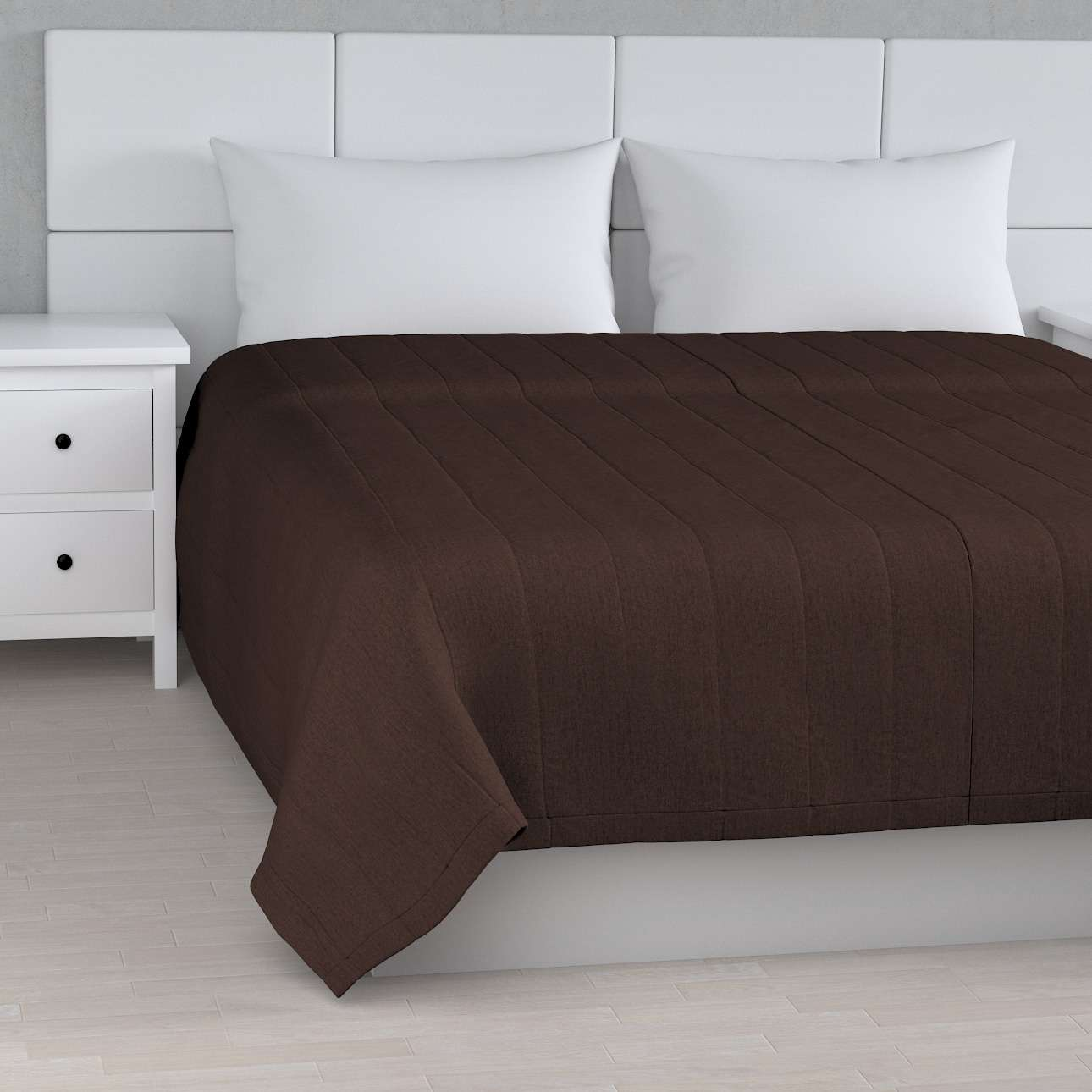 Prehoz na posteľ jednoduchý V kolekcii Chenille, tkanina: 702-18