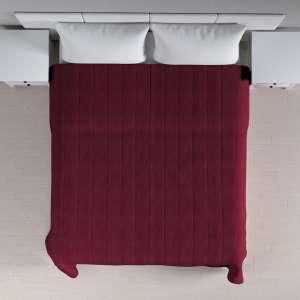 Sengetæppe quiltet<br/>10cm striber 120g/m 260 x 210 cm fra kollektionen Chenille, Stof: 702-19