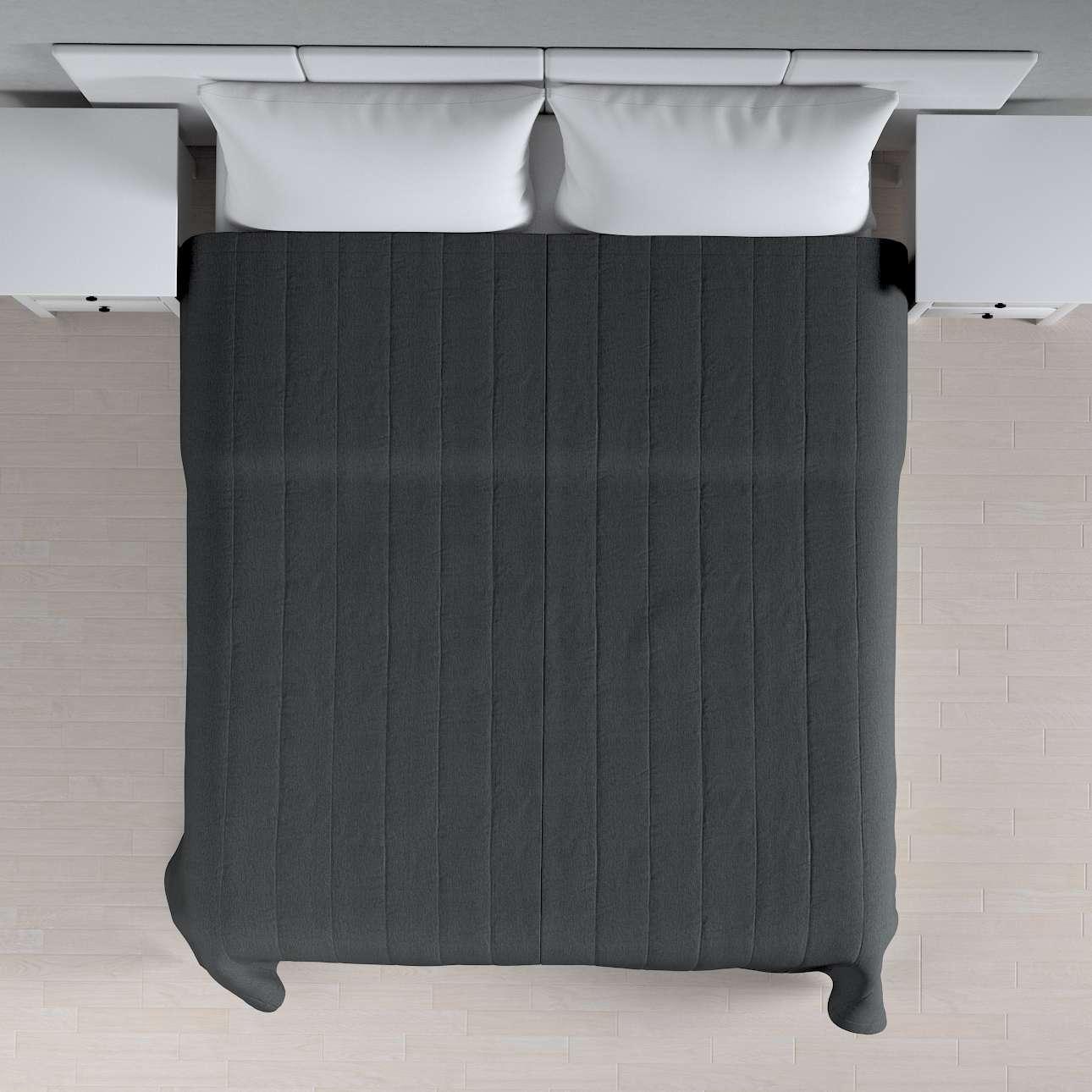 Överkast Quiltat/ränder 260 × 210 cm i kollektionen Chenille, Tyg: 702-20