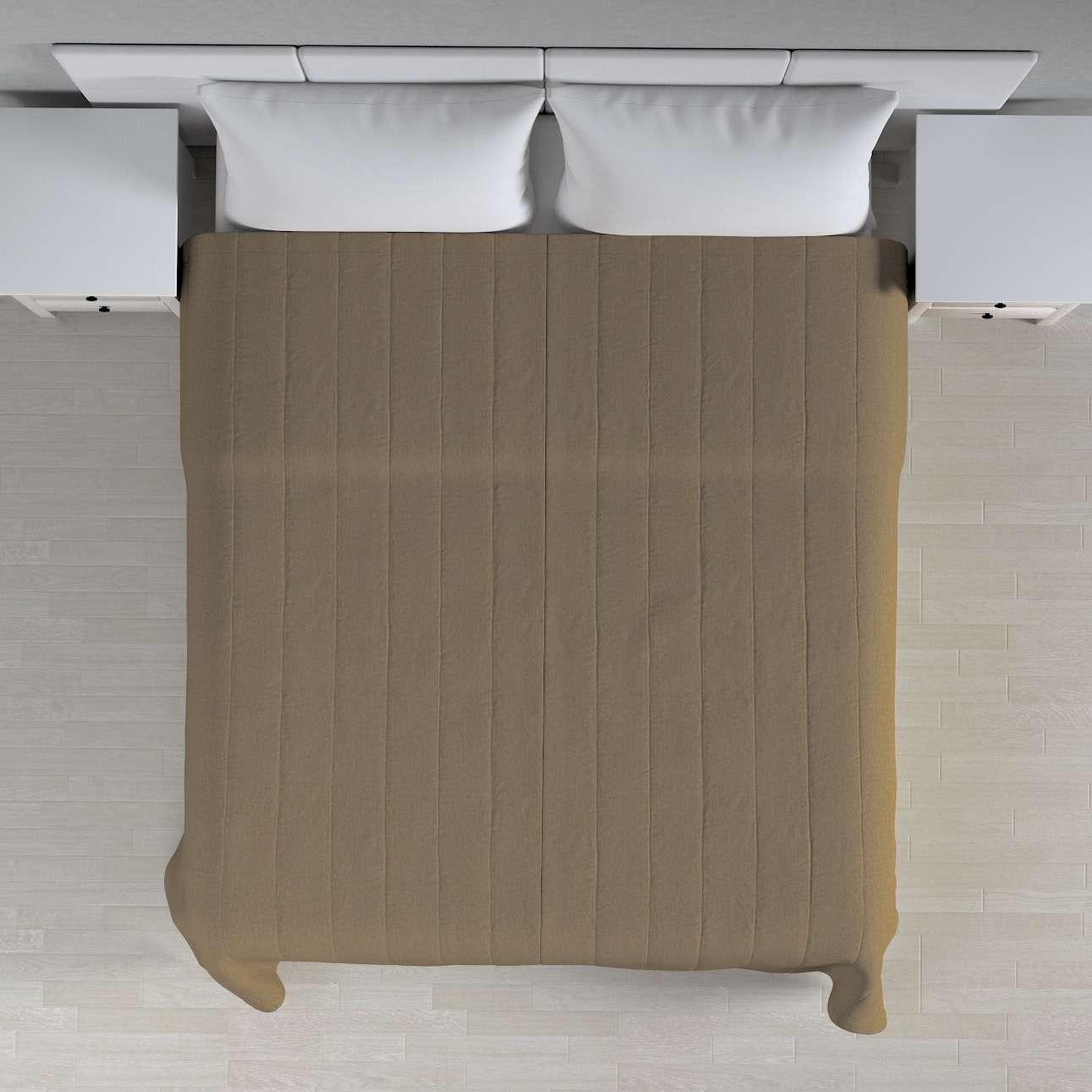 Přehoz s podélným prošitím 260 x 210 cm v kolekci Chenille , látka: 702-21