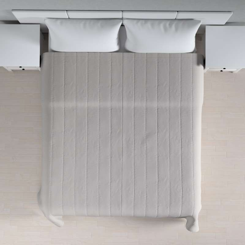 Sengeteppe quiltet<br/>10cm striper fra kolleksjonen Chenille, Stoffets bredde: 702-23