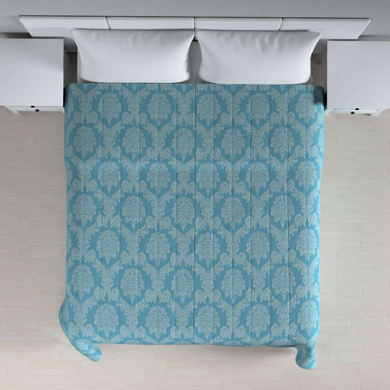 Stripe quilted throw in collection Damasco, fabric: 613-67