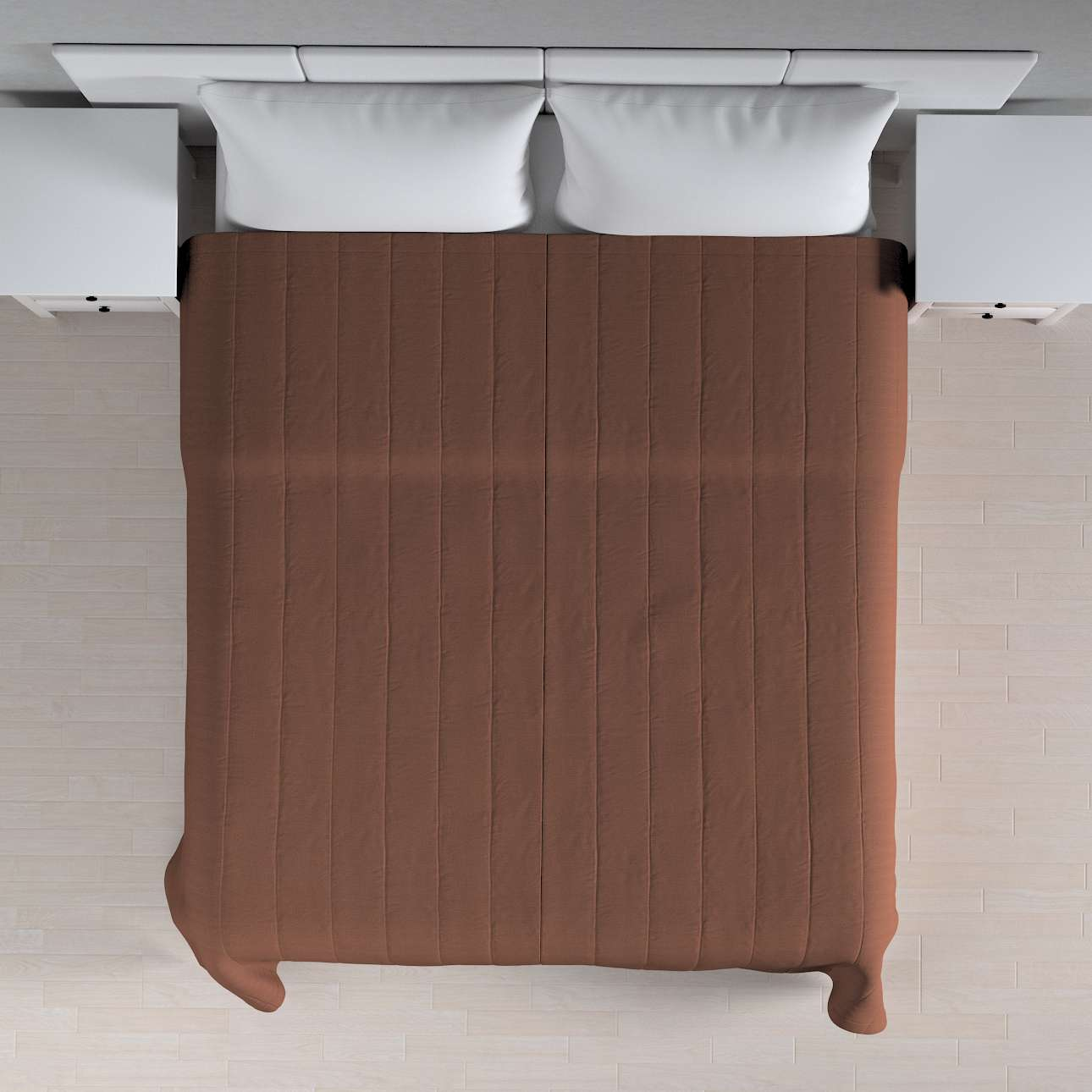 Överkast Quiltat/ränder 260 × 210 cm i kollektionen Loneta , Tyg: 133-09