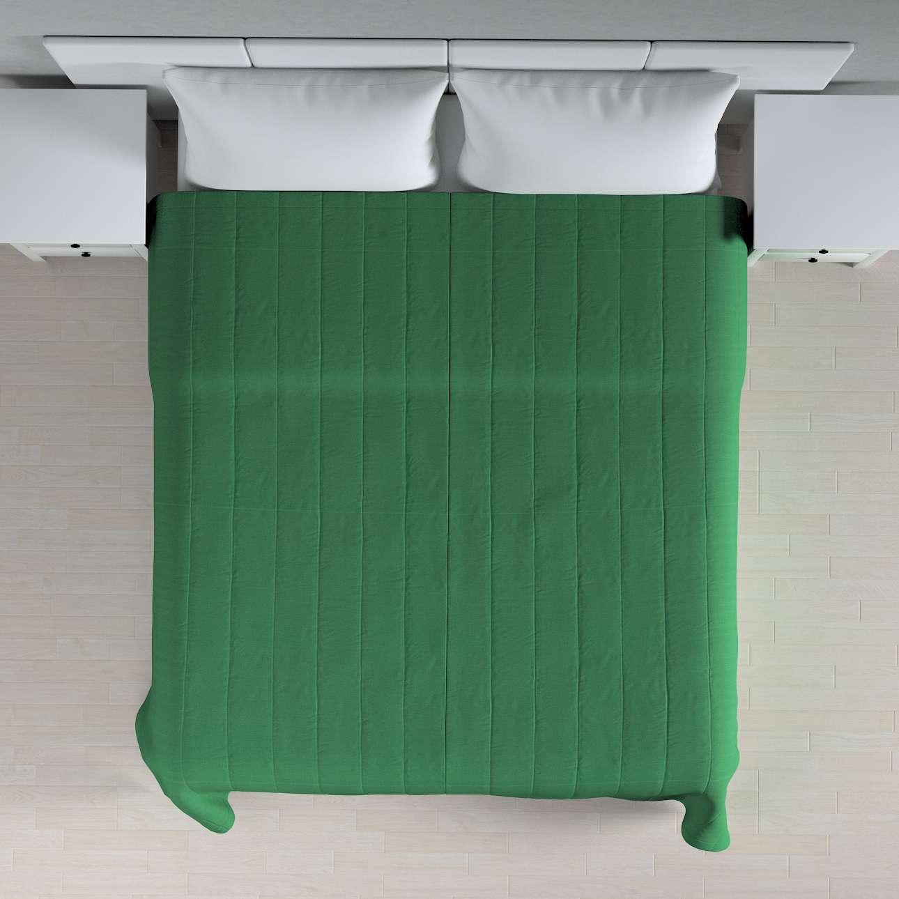 Sengetæppe quiltet<br/>10cm striber 120g/m 260 x 210 cm fra kollektionen Loneta, Stof: 133-18