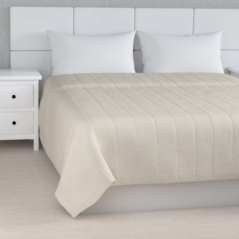 Stripe quilted throw in collection Loneta , fabric: 133-65