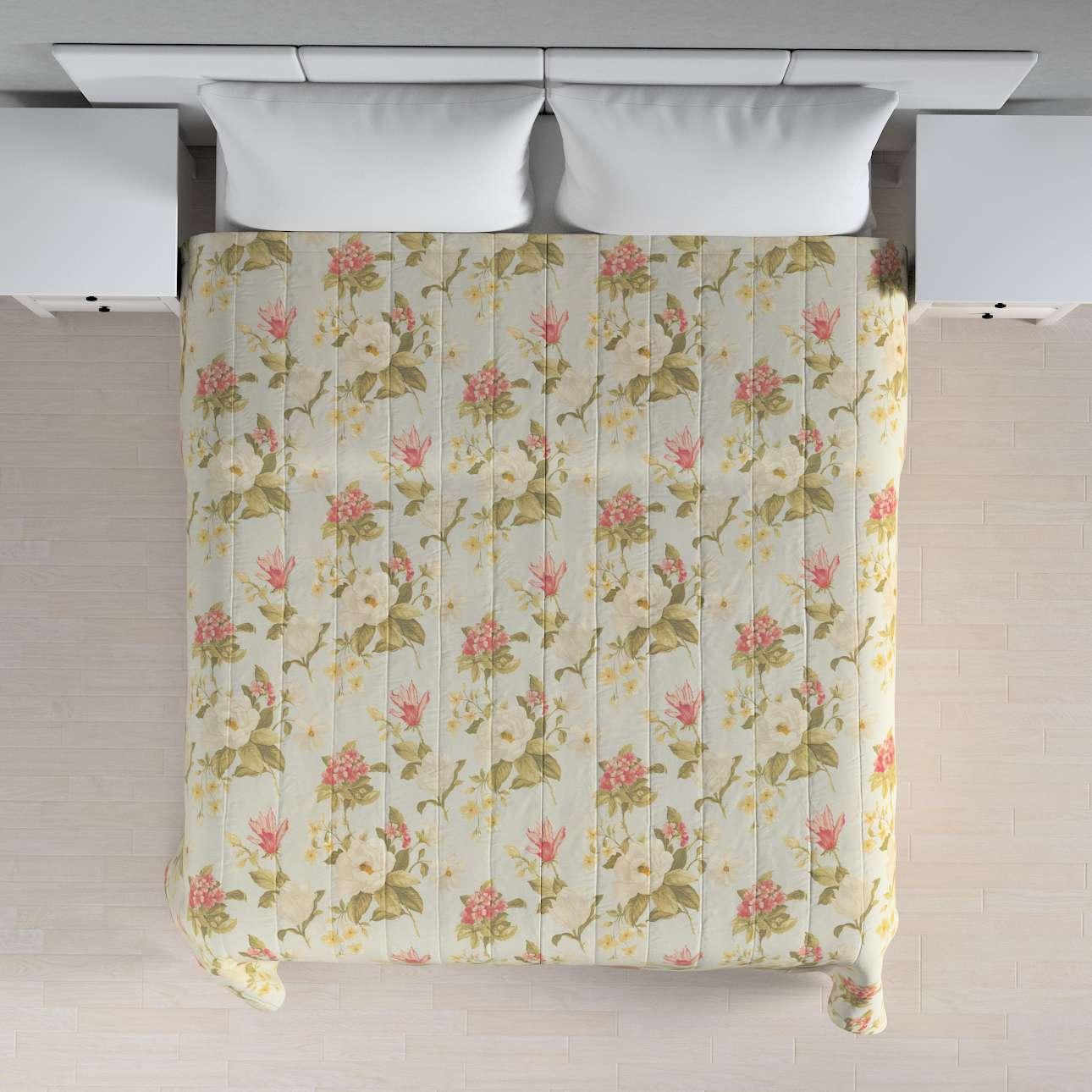 Sengetæppe quiltet<br/>10cm striber 120g/m 260 x 210 cm fra kollektionen Londres, Stof: 123-65