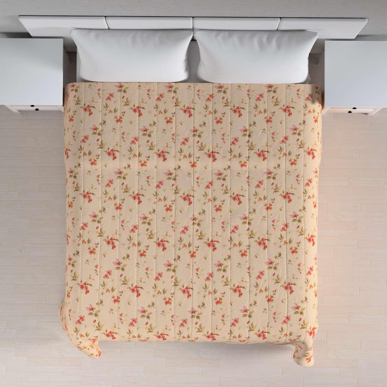 Sengetæppe quiltet<br/>10cm striber 120g/m 260 x 210 cm fra kollektionen Londres, Stof: 124-05