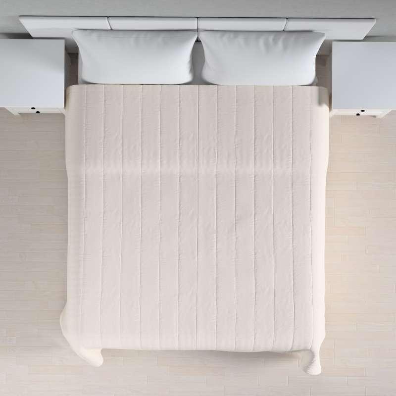 Sengeteppe quiltet<br/>10cm striper fra kolleksjonen Etna - Ikke for gardiner, Stoffets bredde: 705-01