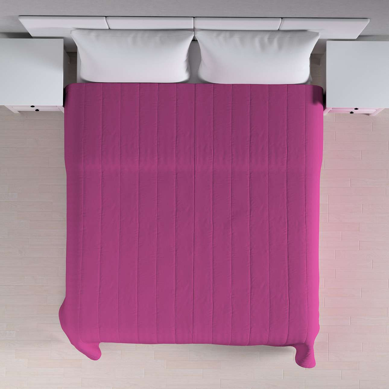 Sengetæppe quiltet<br/>10cm striber 120g/m 260 x 210 cm fra kollektionen Etna, Stof: 705-23