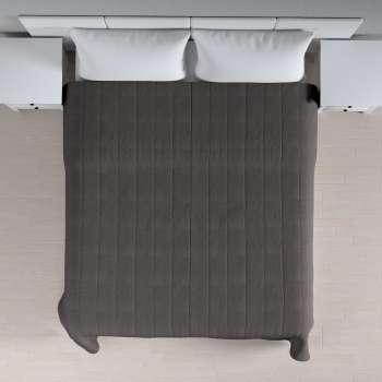 Sengetæppe quiltet<br/>10cm striber 260 × 210 cm fra kollektionen Etna, Stof: 705-35