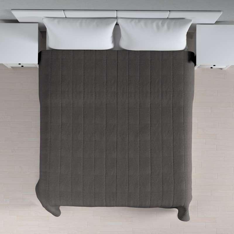 Sengetæppe quiltet<br/>10cm striber fra kollektionen Etna, Stof: 705-35