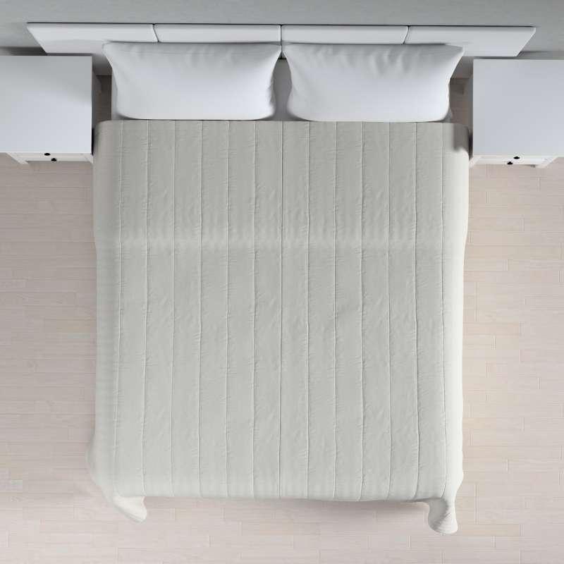 Sengeteppe quiltet<br/>10cm striper fra kolleksjonen Etna - Ikke for gardiner, Stoffets bredde: 705-90