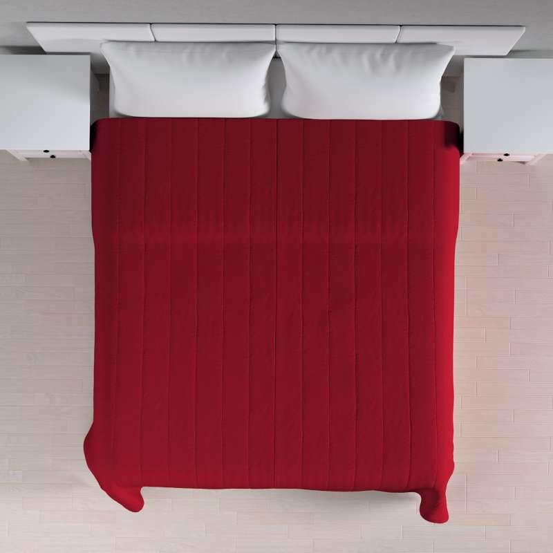 Sengetæppe quiltet<br/>10cm striber fra kollektionen Etna, Stof: 705-60
