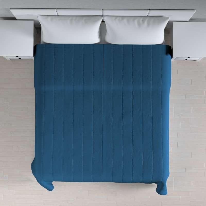 Sengetæppe quiltet<br/>10cm striber fra kollektionen Cotton Panama, Stof: 702-30
