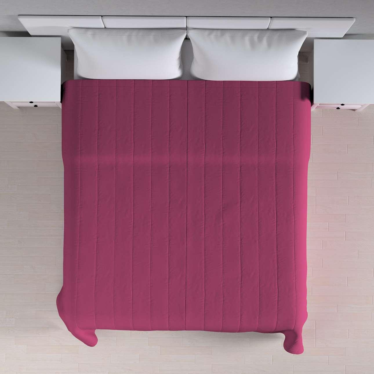 Přehoz s podélným prošitím 260 × 210 cm v kolekci Cotton Panama, látka: 702-32