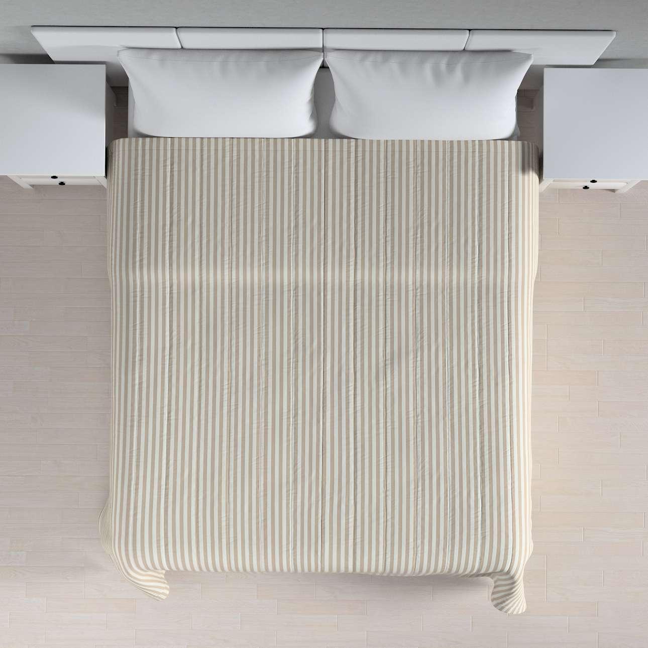 Einfacher Überwurf 260 x 210 cm von der Kollektion Quadro, Stoff: 136-07
