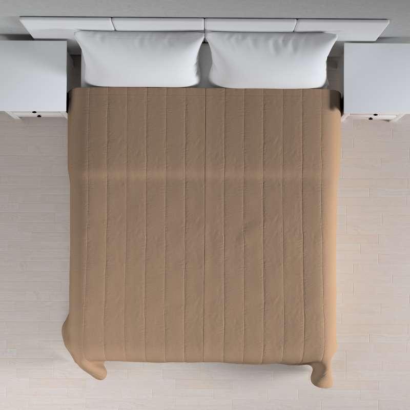Sengeteppe quiltet<br/>10cm striper fra kolleksjonen Quadro, Stoffets bredde: 136-09