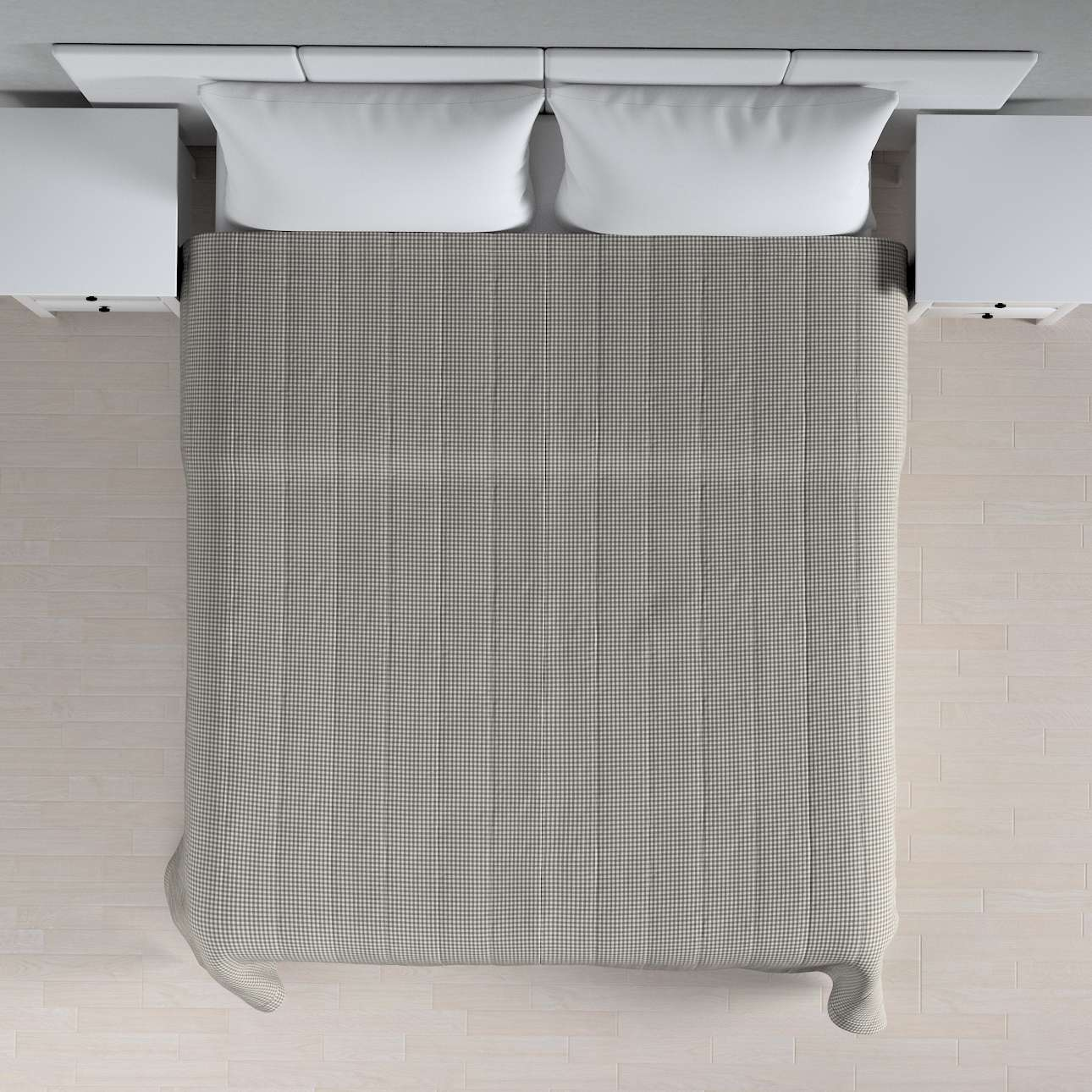 Einfacher Überwurf 260 x 210 cm von der Kollektion Quadro, Stoff: 136-10