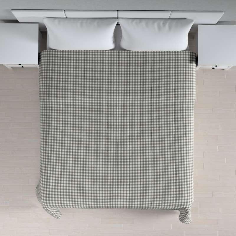 Prehoz na posteľ jednoduchý V kolekcii Quadro, tkanina: 136-11