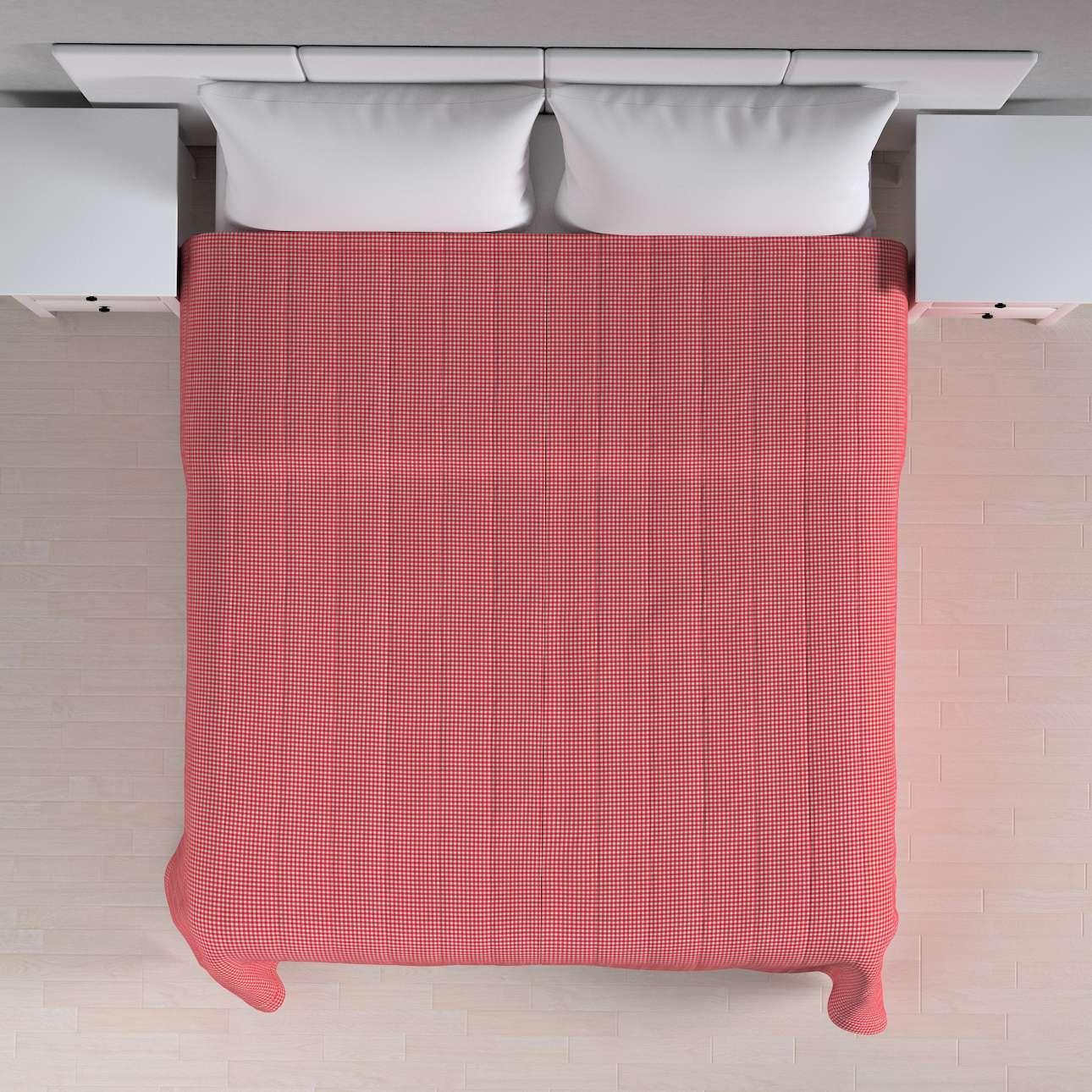 Sengeteppe quiltet<br/>10cm striper 260 x 210 cm fra kolleksjonen Quadro, Stoffets bredde: 136-15