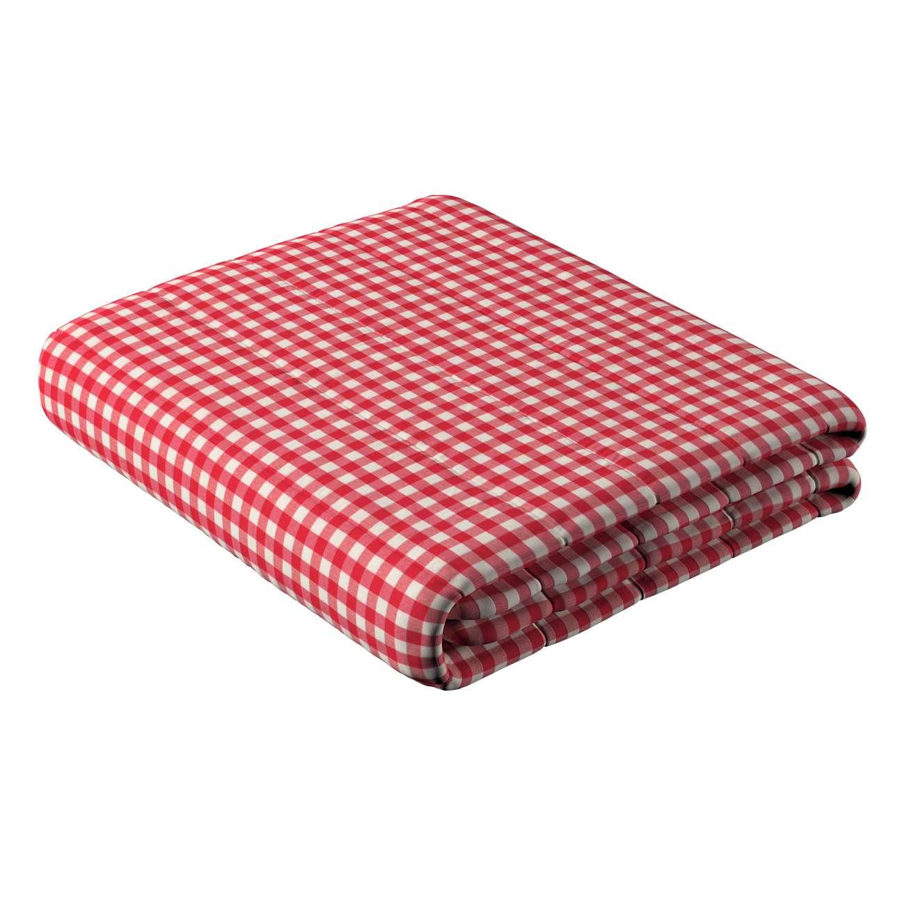 Sengeteppe quiltet<br/>10cm striper fra kolleksjonen Quadro, Stoffets bredde: 136-16