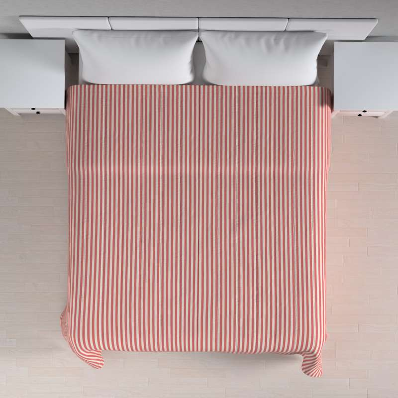 Stripe quilted throw in collection Quadro, fabric: 136-17