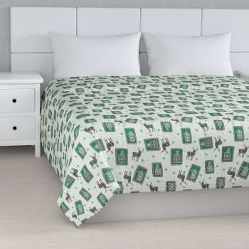Quilted throw (vertical quilt pattern)