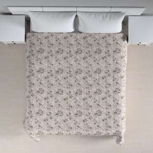 Quilted throw (vertical quilt pattern) 260 x 210 cm (102 x 83 inch) in collection Rustica, fabric: 138-14