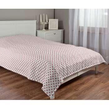 Sengetæppe quiltet<br/>10cm striber 120g/m