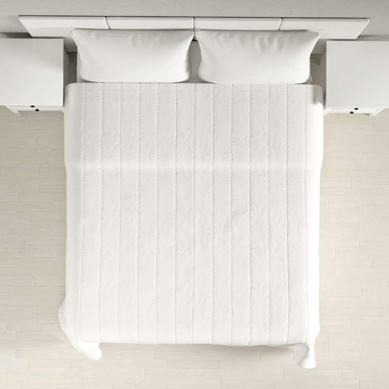 Päiväpeitto tikattu raidat mallistosta Cotton Panama, Kangas: 702-34