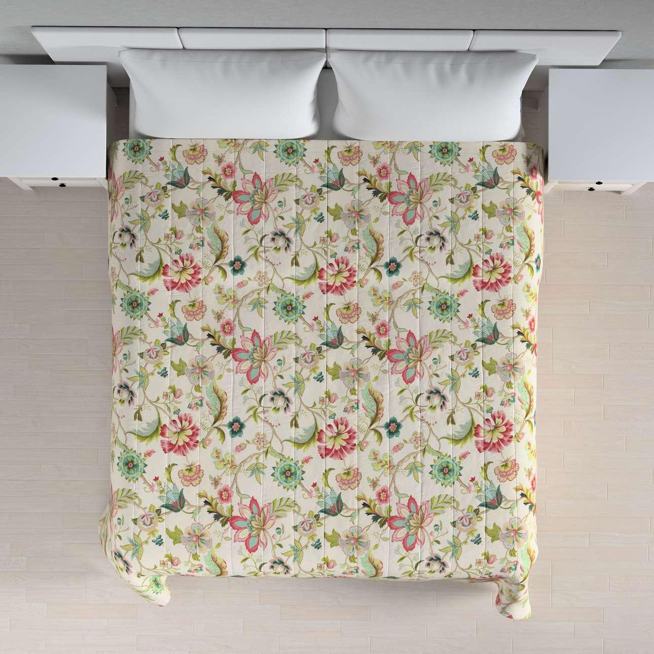 Sengeteppe quiltet<br/>10cm striper 260 × 210 cm fra kolleksjonen Londres , Stoffets bredde: 122-00