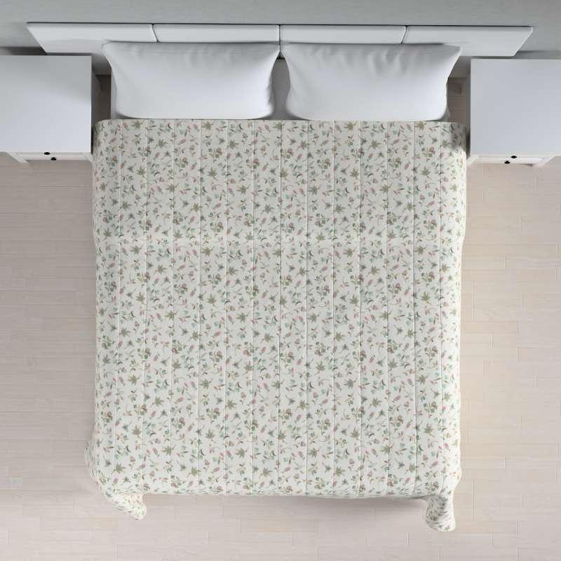Sengeteppe quiltet<br/>10cm striper fra kolleksjonen Londres , Stoffets bredde: 122-02