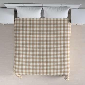 Prehoz na posteľ jednoduchý V kolekcii Quadro, tkanina: 136-08